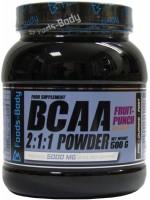 Фото - Аминокислоты Foods-Body BCAA 2-1-1 Powder 500 g