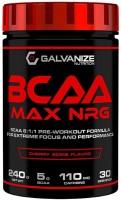 Фото - Амінокислоти Galvanize BCAA MAX NRG 240 g