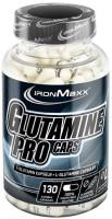 Фото - Аминокислоты IronMaxx Glutamine Pro Caps 130 cap