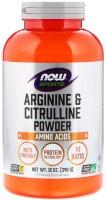 Фото - Амінокислоти Now Arginine and Citrulline Powder 340 g