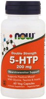 Фото - Аминокислоты Now 5-HTP 200 mg 60 cap