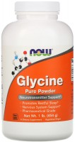 Фото - Амінокислоти Now Glycine Pure Powder 454 g