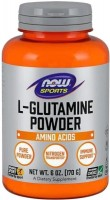 Фото - Аминокислоты Now L-Glutamine Powder 170 g