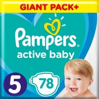 Подгузники Pampers Active Baby 5 / 78 pcs