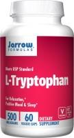 Фото - Аминокислоты Jarrow Formulas L-Tryptophan 500 mg 60 cap