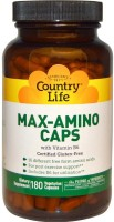 Фото - Аминокислоты Country Life Max-Amino Caps 180 cap