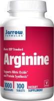 Фото - Амінокислоти Jarrow Formulas Arginine 1000 mg 100 tab