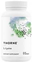 Фото - Амінокислоти Thorne L-Lysine 60 cap