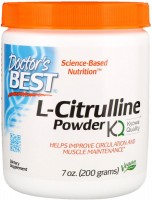 Фото - Аминокислоты Doctors Best L-Citrulline Powder 200 g