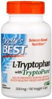 Фото - Аминокислоты Doctors Best L-Tryptophan 500 mg 90 cap