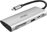 Картридер/USB-хаб WiWU Alpha 831HRT