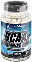 Фото - Аминокислоты IronMaxx BCAAs plus Glutamine 800 130 cap
