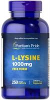 Фото - Амінокислоти Puritans Pride L-Lysine 1000 mg 60 cap