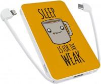 Фото - Powerbank аккумулятор ZIZ Sleep is for the weak 5000
