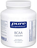 Фото - Амінокислоти Pure Encapsulations BCAA Capsules 90 cap