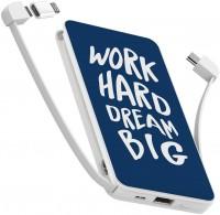 Фото - Powerbank аккумулятор ZIZ Work Hard Dream Big 10000