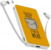 Фото - Powerbank аккумулятор ZIZ Sleep is for the weak 10000