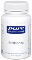 Фото - Аминокислоты Pure Encapsulations L-Methionine 60 cap