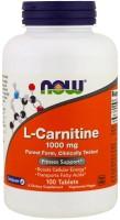 Спалювач жиру Now L-Carnitine 1000 mg 50 tab 50шт