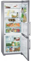Холодильник Liebherr CBNPes 5167 серебристый