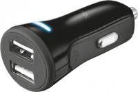 Зарядное устройство Trust 20W Fast Car Charger with 2 USB ports