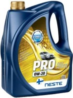 Моторное масло Neste Pro 0W-20 4L 4л