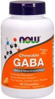 Фото - Амінокислоти Now GABA Chewable 90 tab