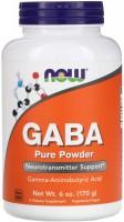Фото - Амінокислоти Now GABA Pure Powder 170 g