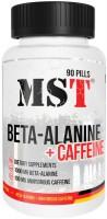 Фото - Аминокислоты MST Beta-Alanine plus Caffeine 90 tab