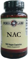 Фото - Аминокислоты Form Labs NAC 500 mg 100 cap