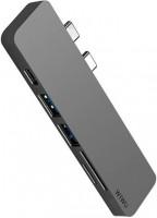 Фото - Кардридер / USB-хаб WiWU Adapter T8 Lite