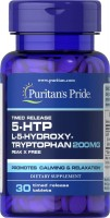 Фото - Аминокислоты Puritans Pride 5-HTP 200 mg 60 cap