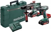 Набор электроинструмента Metabo Combo Set 2.3.2 18 V 685083000