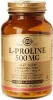 Фото - Аминокислоты SOLGAR L-Proline 500 mg 100 cap