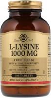 Фото - Амінокислоти SOLGAR L-Lysine 1000 mg 100 tab