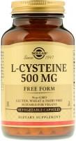Фото - Амінокислоти SOLGAR L-Cysteine 500 mg 90 cap