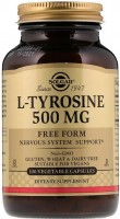 Фото - Амінокислоти SOLGAR L-Tyrosine 500 mg 50 cap