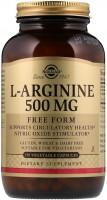 Фото - Аминокислоты SOLGAR L-Arginine 500 mg 100 cap