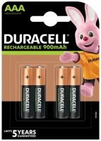 Аккумуляторная батарейка Duracell 4xAAA 900 mAh