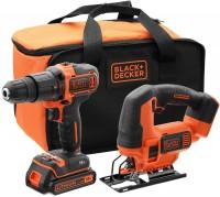 Фото - Набір електроінструменту Black&Decker BCK22S1S