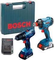 Набор электроинструмента Bosch GDX 180-LI Plus GSR 180-LI Professional