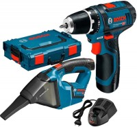 Набор электроинструмента Bosch GSR 12V-15 Plus GAS 12V Professional