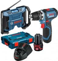 Набор электроинструмента Bosch GSR 12V-15 Plus GPB 12V-10 Professional