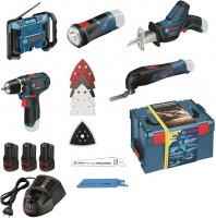 Набор электроинструмента Bosch GSR 12V-15 Plus GOP 12V-LI Plus GSA 12V-14 Plus GPB 12V-10 Plus GLI 12V-80 Professional