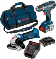 Набор электроинструмента Bosch GSR 18-2-LI Plus Plus GWS 18-125 V-LI Professional