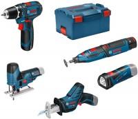 Набор электроинструмента Bosch GSR 12V-15 Plus GST 12V-70 Plus GRO 12V-35 Plus GSA 12V-14 Plus GLI 12V-80 Professional