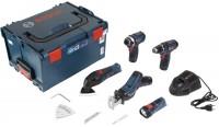 Набор электроинструмента Bosch GSR 12V-15 Plus GDR 12V-105 Plus GSA 12V-14 Plus GOP 12V-LI Plus GLI 12V-80 Professional