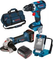 Набор электроинструмента Bosch GSR 18V-60 C Plus GWS 18-125 V-LI Plus GLI VariLED Professional