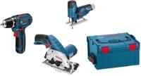 Набор электроинструмента Bosch GSR 12V-15 Plus GST 12V-70 Plus GKS 12V-26 Professional