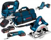 Набор электроинструмента Bosch GST 18 V-LI B Plus GKS 18 V-LI Plus GSA 18 V-LI C Plus GOP 18 V-EC Professional